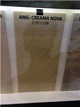 Ang Creama Nova Marble Tiles & Slabs, Beige Marble Turkey Tiles & Slabs