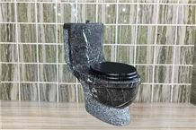 Emperor Brown Nature Stone Bathroom Marble Toilet Closets