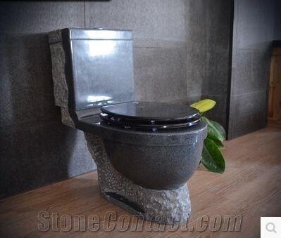 Pleasant G654 Granite Grey Stone Toilets Jet Mist Nature Stone Creativecarmelina Interior Chair Design Creativecarmelinacom