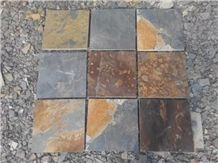 Cheap Rusty Slate Tiles & Slabs Paving Wall Cladding Low Prices