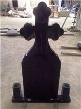 G332 Beida Black Granite Cheap Tombstone