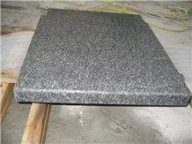 G343 China Grey Granite Flamed Tops Swimming Pool Coping