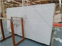 Jasmine White Marble Slabs & Tiles, Greece Pure White Marble for Walling /Flooring