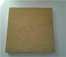 Mango Bush Hammered Tiles Sandstone
