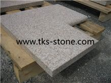 G682 Granite Pool Coping,Sunset Gold,Rusty Yellow,Giallo Yellow,China Gold Leaf,Golden Cristal,Golden Crystal Granite Swimming Pool Coping,Swimming Pool Edge,Natural Stone Pool Coping