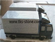 Grey Granite Car Sculptures, Car Hand Works, Grey Granite Carved Gifts, Handicrafts, Carving Crafts, Artifacts