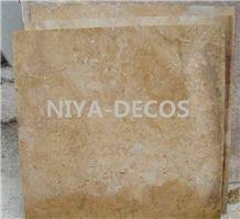 China Beige Limestone Tiles for Flooring