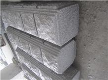 Fargo China G603 Grey Granite Pier Caps & Quoins Grey Granite Parapets G603 Pillar Caps Natural Wall Coping Gate Cast Pillar/Gate Columns