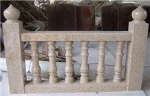 Fargo G682 Granite Rails, Chinese Yellow Granite Handrail & Balustrade