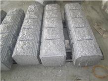 Fargo Hina G603 Grey Granite Pier Caps & Quoins Grey Granite Parapets Chinese Grey Granite Pillar Caps Natural Wall Coping Gate Cast Pillar/Gate Columns