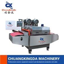 Automatic Continuous Ceramic Tiles Cutting Machine Multi Blade Cutting Machine Mosaic Cutting Making Machine