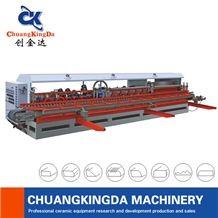 Full Function Automatic Arc-Edge Polishing Machine Stair Step Skitting Round Circle Slotting Machine