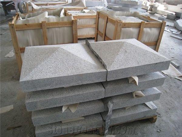 G603 Granite Pier Caps Granite Quoins Granite Parapets