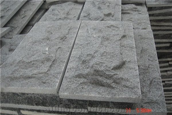 Grey G623 Granite Mushroom Stone Split Face Wall Cladding