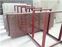 Oriantal Kenaf China Chinese Granite Flooring Paver Cover Tile & Slab, China Red Granite
