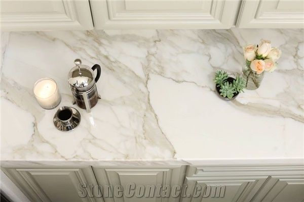 Calacatta Gold Marble Vanity Top From United States