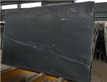 Oreo Black Soapstone Slabs, Black Sandstone Polished Tiles & Slabs, Floor Tiles, Flooring Tile S