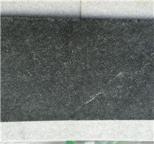 Chinese Black Granite Swimming Pool Coping ,Black Granite Paving Coping