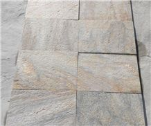 Hot Sale Natural Surface Rusty Quartzite Stone Slabs & Tiles for Exterior Flooring and Walling