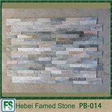 Multicolor Split Slate Culture Stone, Stone Slate Cultured Stone