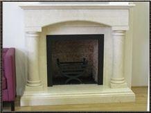 Limestone Fireplaces Surround