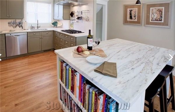 Imperial Danby Marble Kitchen Island Top From United