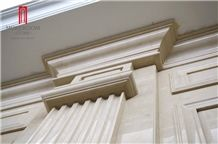Turkey Quarry Crema Latte Marble Molding & Border