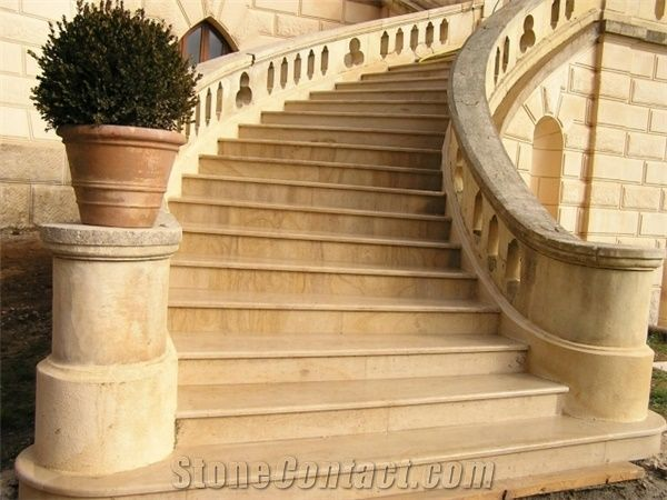 beauval limestone stairs from france