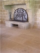 Pierre Ampilly Wall and Floor Tiles, Beige France Limestone Flooring Tiles