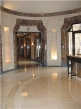 Pierre Chamesson Polished Beige French Limestone Flooring Tiles