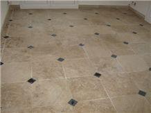 Rocheval Limestone Floor Pattern, Beige France Limestone Flooring Tiles