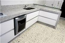 Ouro Branco Granite Brazil, White Icarai Granite Kitchen Countertops