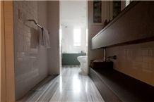 Aspen White Marble Polished Honed Floor Tiles, White Marble Turkey Tiles & Slabs, Flooring, Wall Covering Tiles