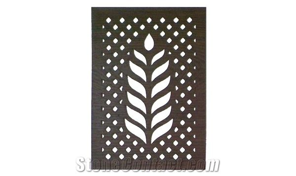 Sandstone Traditional Stone Grid Jali From India