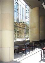 Piles Creek Sandstone Column Cladding, Beige Sandstone Australia for Columns