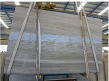Marble Slab Big Slab Silk Georgette Light Grey Wood Grain Vein Marble Floor Tile, China Grey Marble