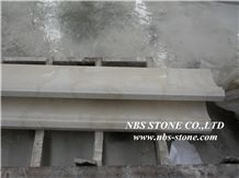 Beige Marble Border Lines, Marble Molding,Marble Border Tiles