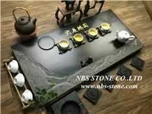 China Granite Tea Tray, Black Granite Tea Tray,Handcrafts