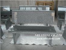G654 Bench Chair, Granite & Stone Benches, China Black Granite Benches