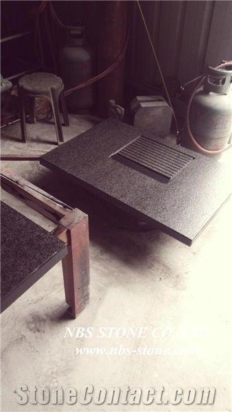 G684 Tea Set Black Granite Black Granite Kitchen Accessories From China Stonecontact Com
