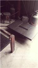 G684 Tea Set Black Granite, Black Granite Kitchen Accessories