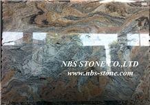 Juparaiba Granite Slabs & Tiles, Multicolor Granite Floor Covering, Granite Wall Covering