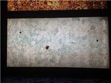 Crystal Translucent Semiprecious Stone Slabs&Tiles,White Crystal Semiprecious Stone Wall Panel
