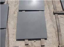 Popular China Grey/Hainan Black Basalt Andesite Tiles & Slabs , Honed Finish Floor Wall Covering, Skirting, Natural Building Lava Stone, Quarry Owner Manufacturers Cheap Prices, Swimming Pool Use