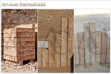 Desert Yellow Brown Sandstone Landscaping Stones