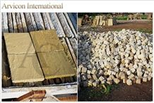 Lalitpur Yellow Sandstone Cube Stone & Pavers, Yellow Sandstone Paving Set