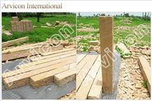 Lalitpur Yellow Sandstone Palisade