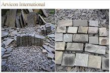 Sagar Black Sandstone Flagstone