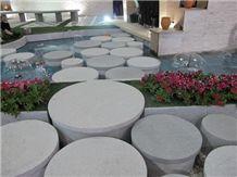 Chinese Granite Round Garden Stepping Pavements
