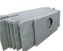 Granite Polished Grey China Vanity Top Bathroom Countertops Cheap Price High Quality Coustom Bath Tops